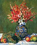 The Museum Outlet - Flowers and Fruit by Renoir - Poster Print Online Buy (24 X 32 Inch)