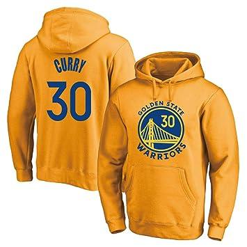 TSHULY Hombre Mujer Sudadera de Baloncesto NBA Warriors 30# Curry ...