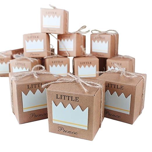 Amazon.com: Cajas de regalos para caramelos, para baby ...