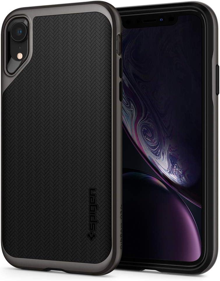 Spigen Neo Hybrid Designed for iPhone XR Case (2018) - Gunmetal