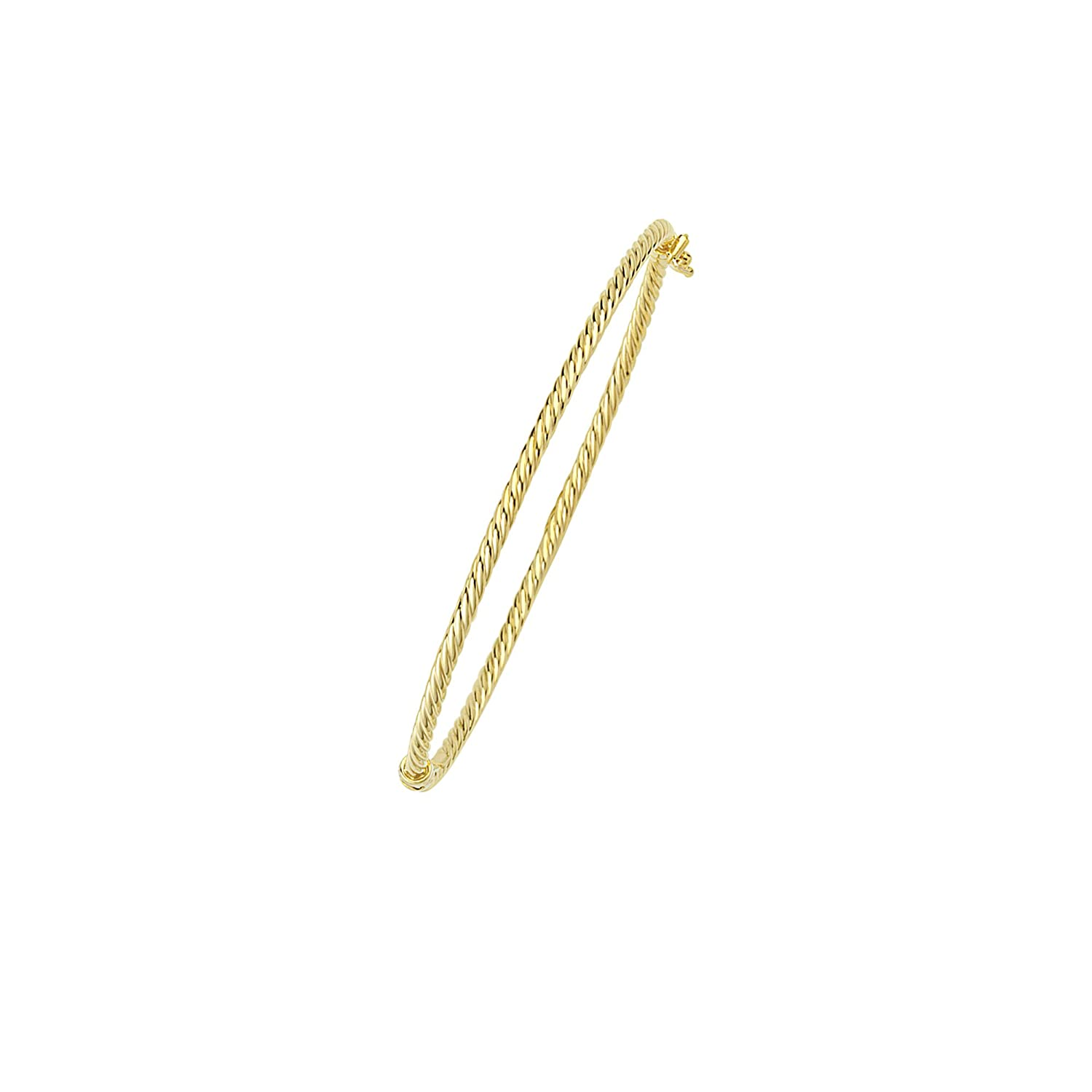 14K Gold Bangle 7,25 Wrist Size Bangle