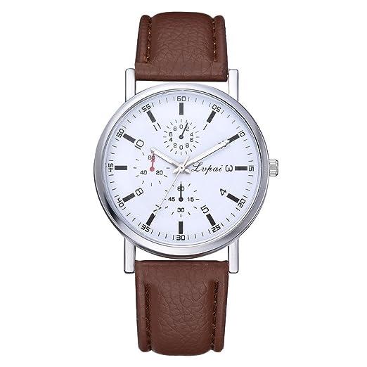 Hosaylike Reloj De Hombre Relojes De Malla Unisex De Moda para Hombres Y Mujeres De Cuarzo AnalóGicos Regalo Reloj De Hombre Deportivo: Amazon.es: Relojes