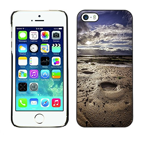 Hülle Case Schutzhülle Cover Premium Case // F00002767 Landschaft // Apple iPhone 5 5S 5G