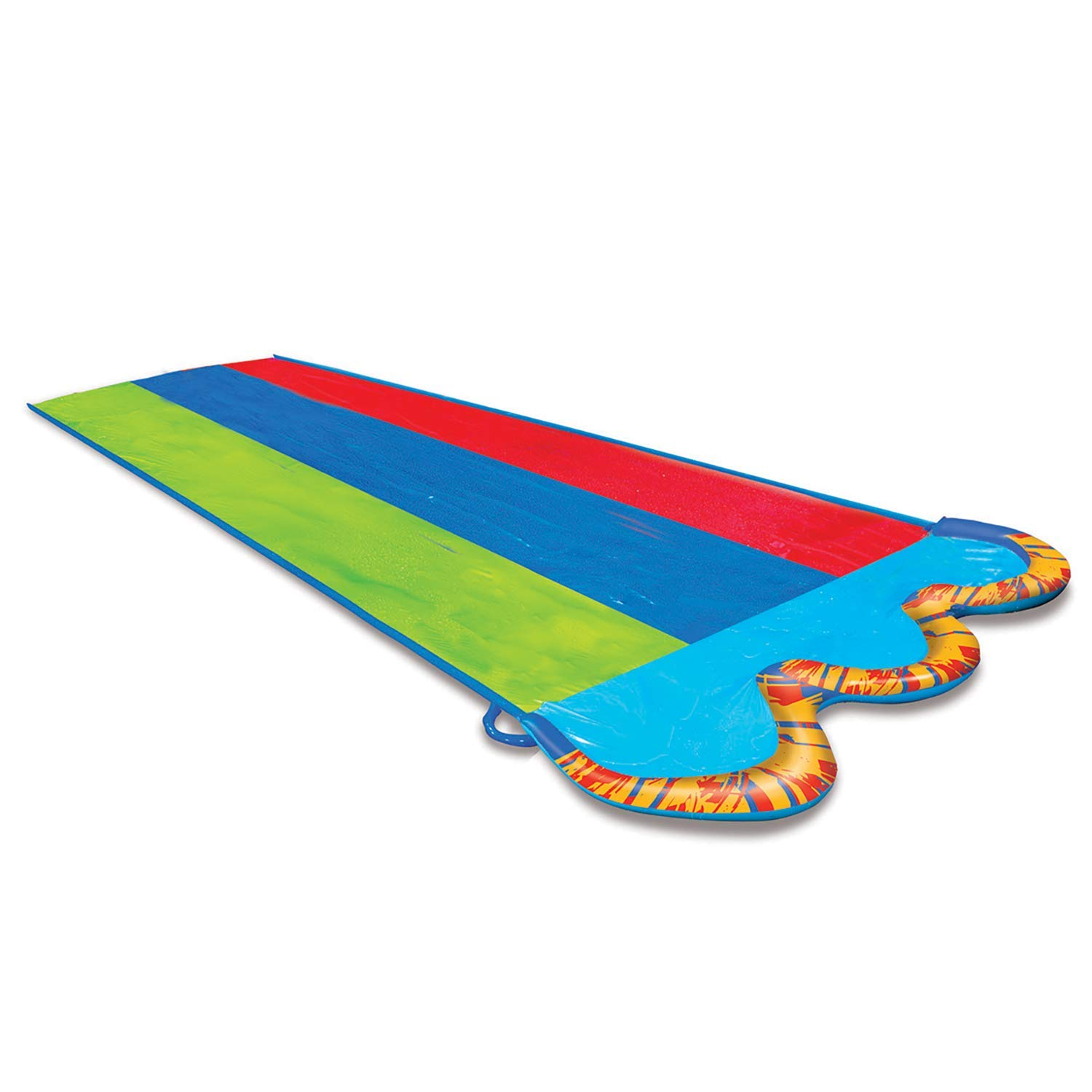 Banzai Triple Racer  16 Ft Water Slide-with 3 bodyboards included by BANZAI