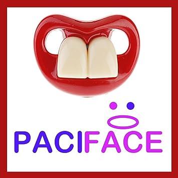Amazon.com: Dos dientes frontales pacifier-bpa gratis ...
