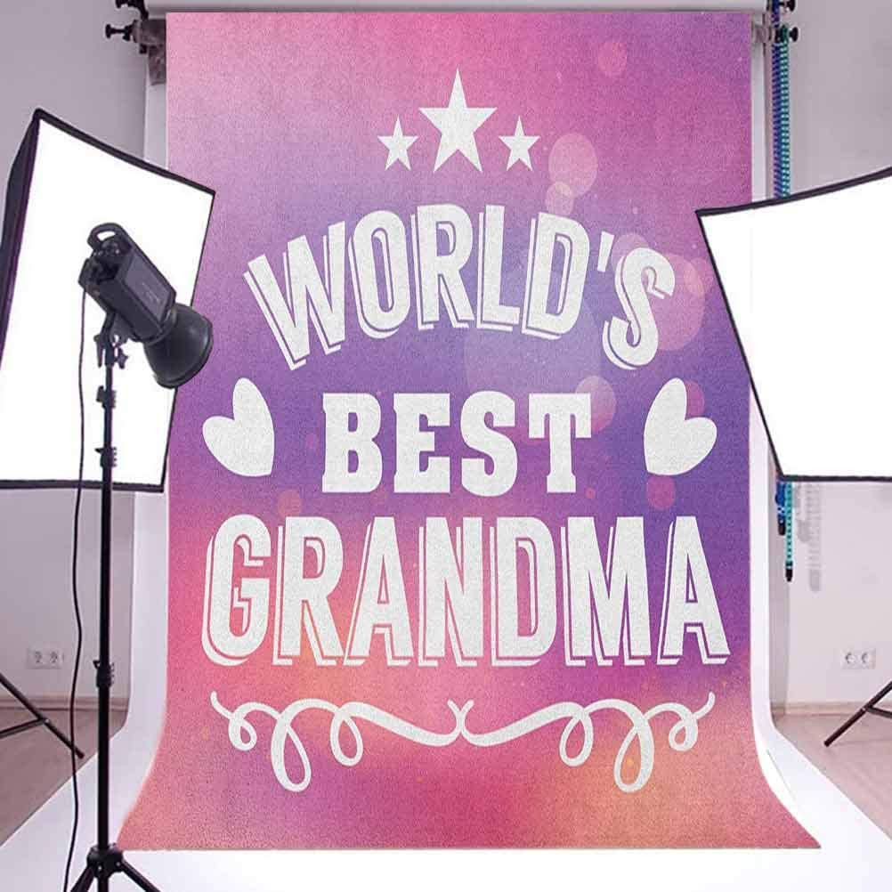 7x10 FT Nursery Vinyl Photography Background Backdrops,Bunny in a Dress with Unicorn in Scandinavian Style and Motivational Magic Quote Background for Selfie Birthday Party Pictures Photo Booth Shoot