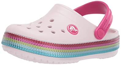 4832736d0fc3cd Crocs Kids  Crocband Sequin Band Clog