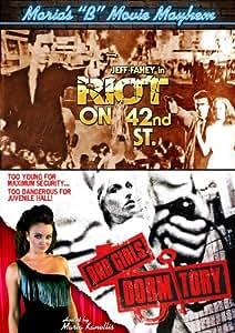 """Maria's """"B"""" Movie Mayhem: Riot on 42nd St. / Bad Girls Dormitory"""