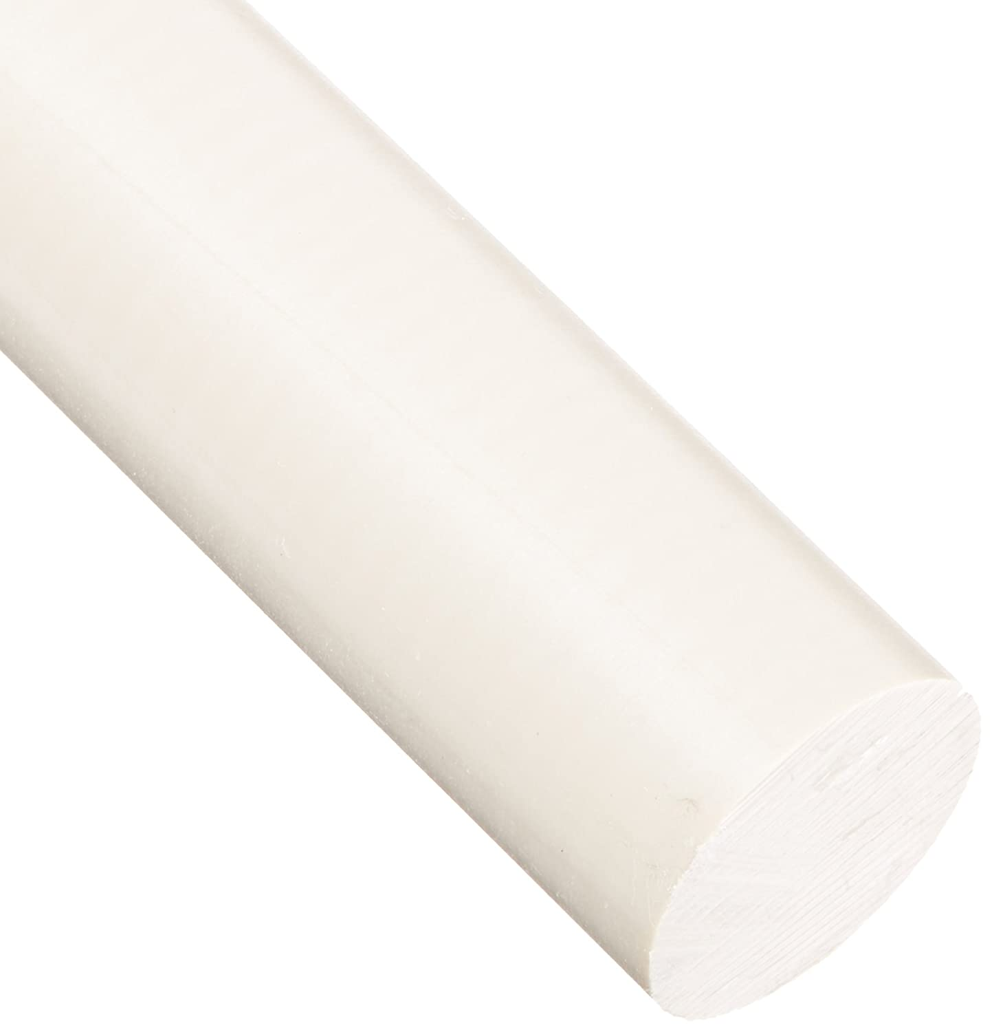 PEEK (Polyetheretherketone) Round Rod, Opaque Tan, Meets ASTM D6262, 1' Diameter, 3' Length 1 Diameter 3 Length Small Parts Inc 903249