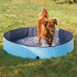 Cool Pup Splash About Dog Pool in Blue, Portable