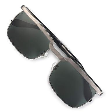 0f08bd1954 LORSEX Classic Wayfarer Sunglasses for Men 100% UV 400 Protection Sports  Driving Fishing Eyeglasses Shades