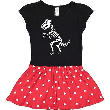 9685553c Amazon.com: inktastic - Dinosaur Skeleton Bones Funny Dino Toddler Dress  2bd1b: Clothing