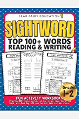 Sightword Top 100+ Words Reading & Writing, 1st 2nd Grade Activity Workbook: 1st Grade Writing Book, 1st Grade Spelling Book Paperback