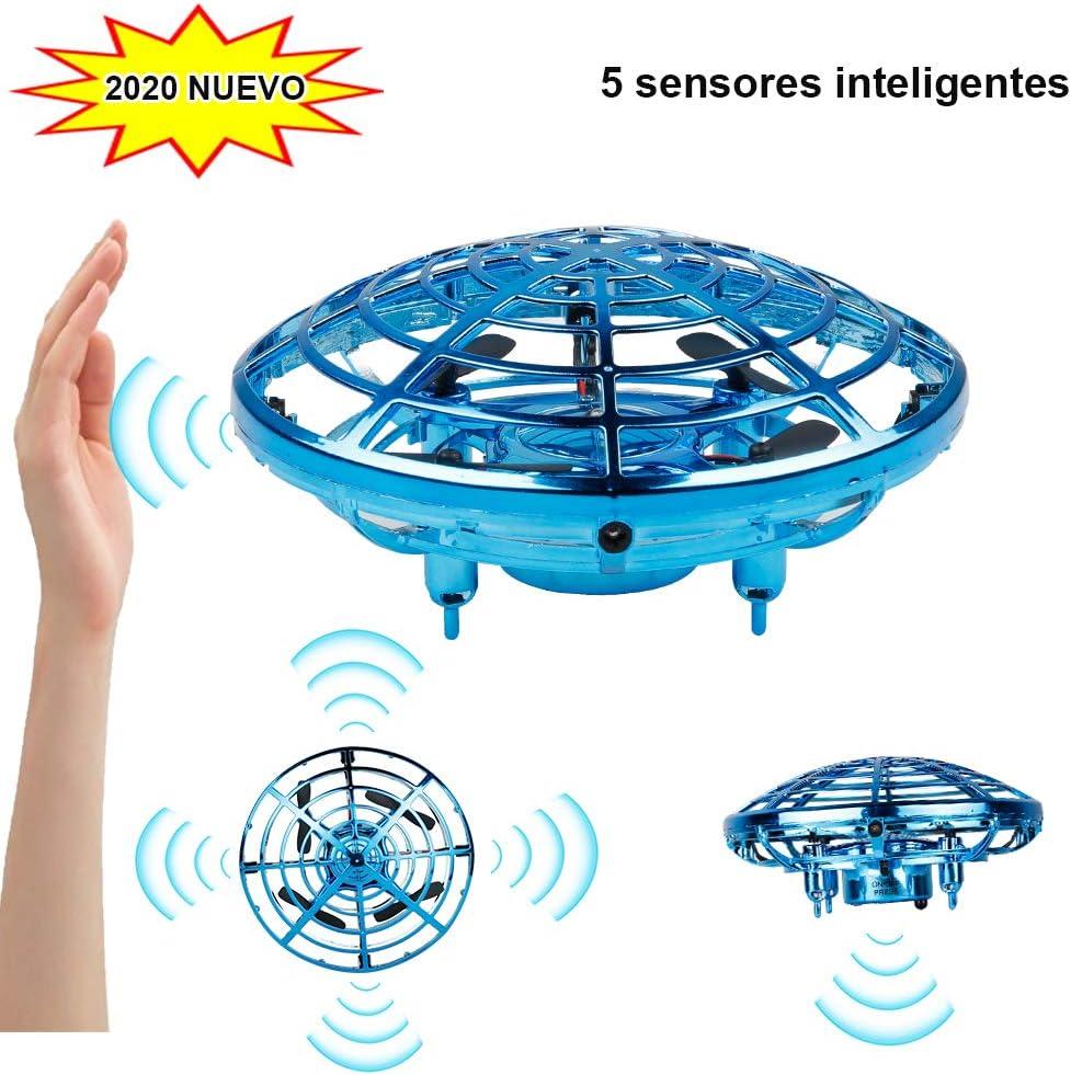 Innoo Tech Mini Drone para niños Flying Toy RC Juguetes UFO helicóptero 360°Rotación Libre con Luces LED Regalos para niños y niñas