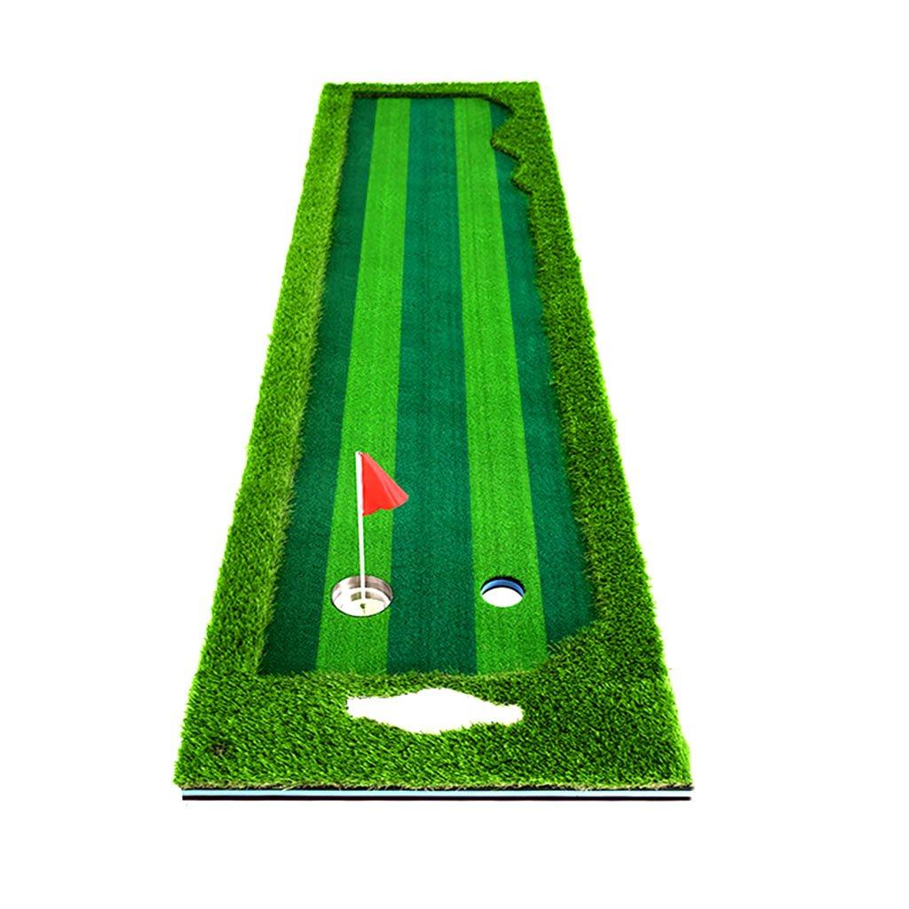 鄭ホイショップゴルフマット屋内ゴルフ練習練習用オフィス練習用毛布芝ゴルフ練習用毛布(色:緑、サイズ:75 * 300 cm)   B07DLLFKW6