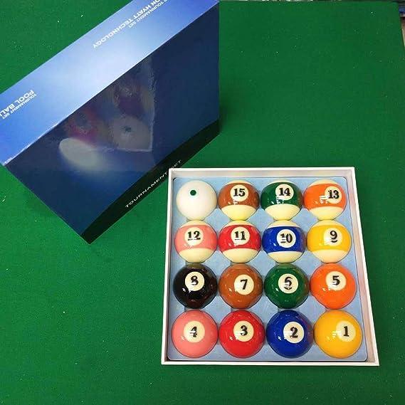 WXS Billar Pool Balls, Snooker Game Balls Juego Completo Accesorio ...