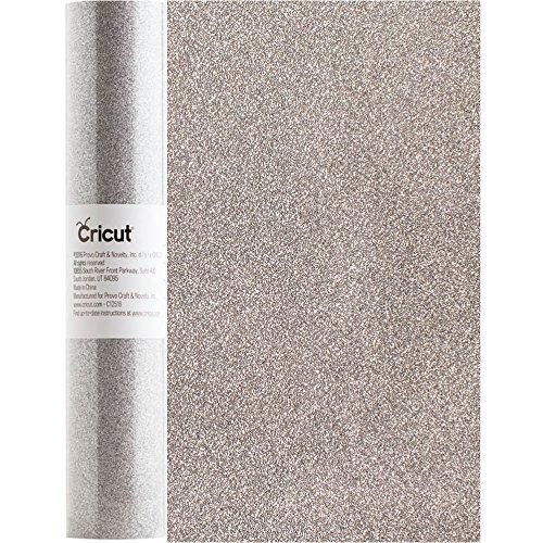 Cricut Glitter Iron-on Silver Shimmer - Bulk , 12 in. x 120