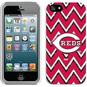 fahion caseiphone 6 4.7 White-Grey New Guardian Case with Cincinnati Reds Sketchy Chevron Design
