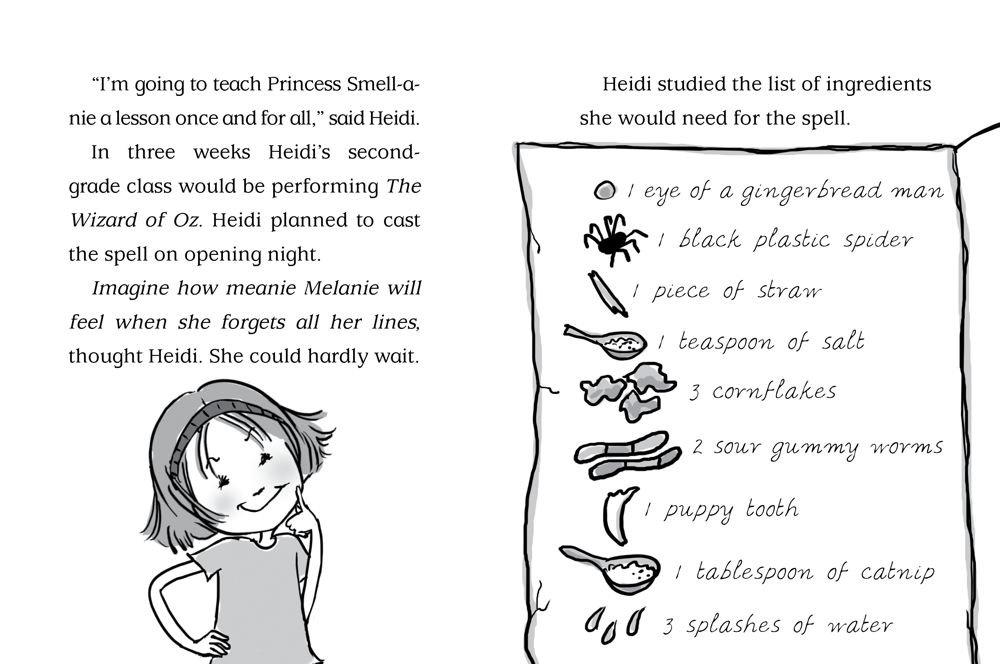 Amazon com: Heidi Heckelbeck Casts a Spell (9781442435674): Wanda