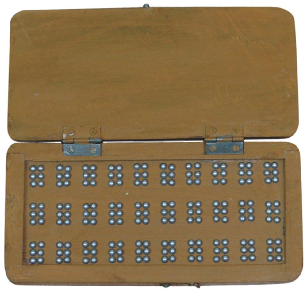 The Braille Store Wooden Brailleit Board - Practice And Learn Braille Dot By Dot
