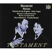 Manon / Les Nuits d'été / La Damoiselle élue
