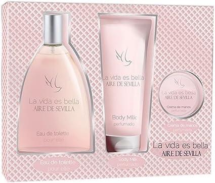 CL.A.SEVILLA LA VIDA BELLA-ESTUCHE-: Amazon.es: Belleza