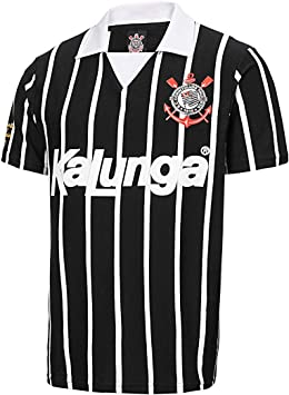 Camisa Polo Retrô Corinthians 1990 Masculina