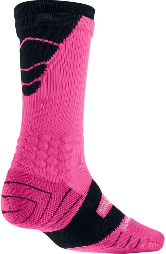 Nike Vapor Eliteサッカークルー(XL、ビビッドピンク/ブラック//ブラック)