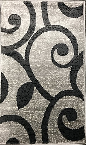 Bellagio Modern Contemporary Door Mat 256,000 Point Area Rug