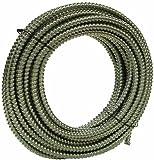 Southwire 55082103 Alflex Type Rwa Flexible Metal Conduit, 1/2 In, 100 Ft. Coil