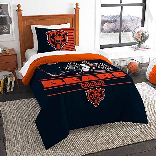 The Northwest Company NFL Chicago Bears Draft Twin Bedding Comforter Set #55112786