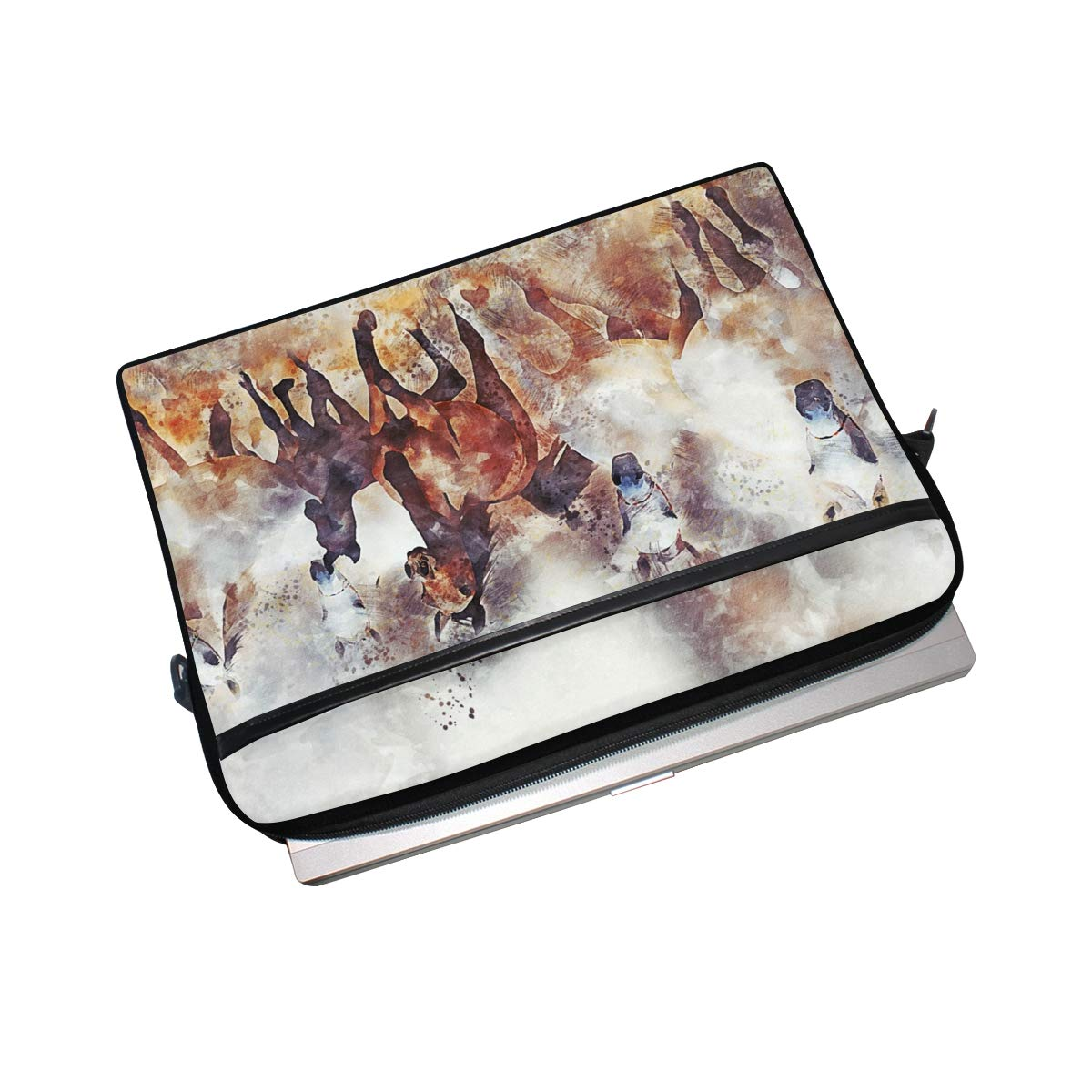 Suitable for 15 Inch Computers Briefcases Horses-4034730mens and Womens Computer Bags Shoulder Bags Handbags