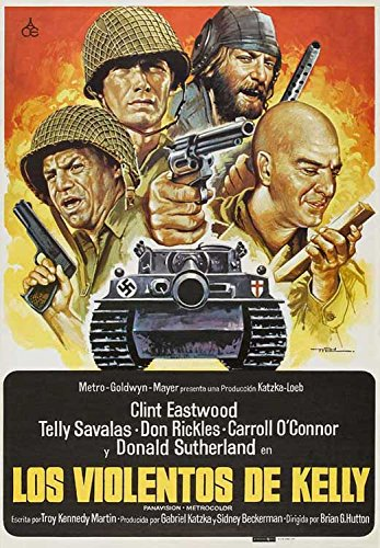 Kelly's Heroes (Spanish ) POSTER (27