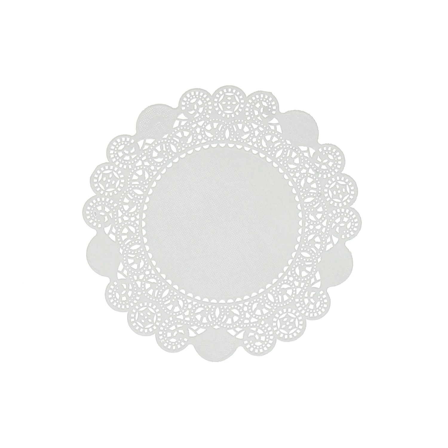 Royal 5'' Disposable Paper Lace Doilies, Package of 1000