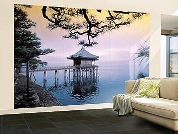 Amazoncom 100x144 Zen Huge Wall Mural Art Home Kitchen
