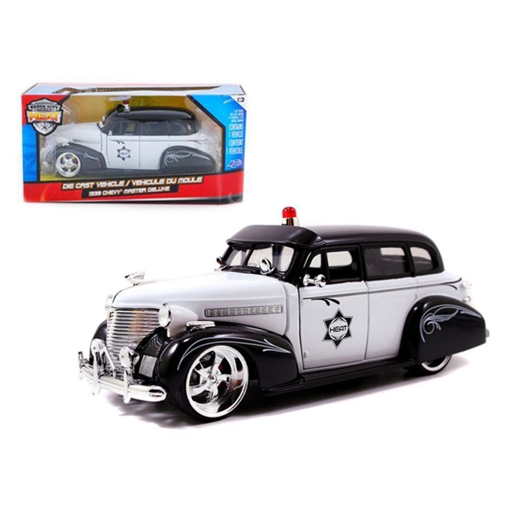1939 Chevrolet Master Deluxe Diecast Police Model Car 1 1951 1953 Pickup Jada 24 Toys Games
