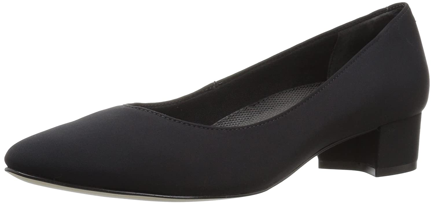 Walking Cradles Women's Heidi Pump B01MR9ESQB 12 B(M) US|Black Micro Leather