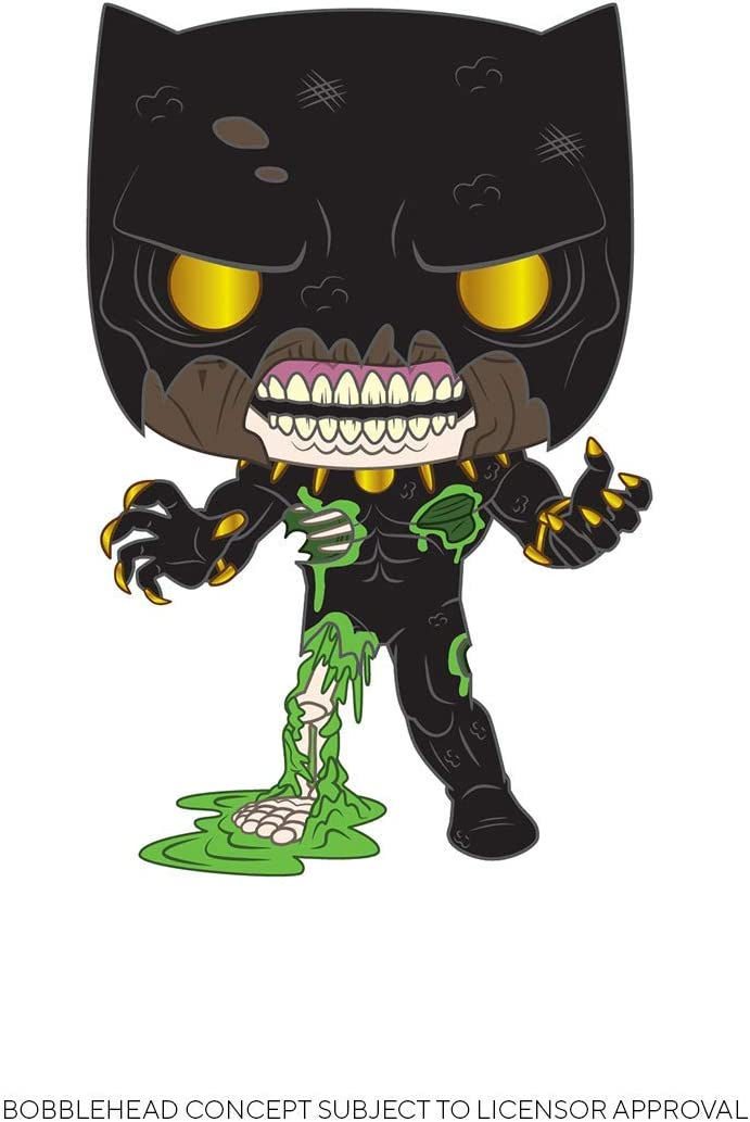 Funko- Pop Marvel Zombies-Black Panther S1 Figura Coleccionable, Multicolor (50339)