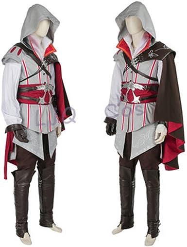 Amazon Com Assassins Creed Ii Ezio Auditore Cosplay Costume