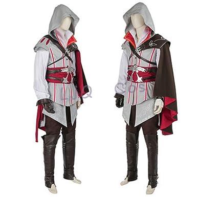 Amazon.com  Assassins Creed II Ezio Auditore Cosplay Costume  Clothing 10b707fa3f14