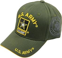 JM WARRIORS U.S. Army Cotton Cap (Olive Green) 27d78c021266