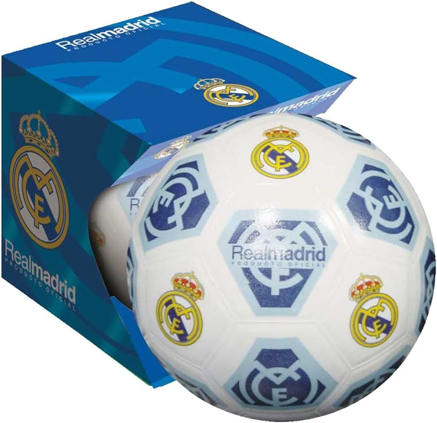 Unice 502024 - Balón Futbol En Estuche Real Madrid: Amazon.es ...