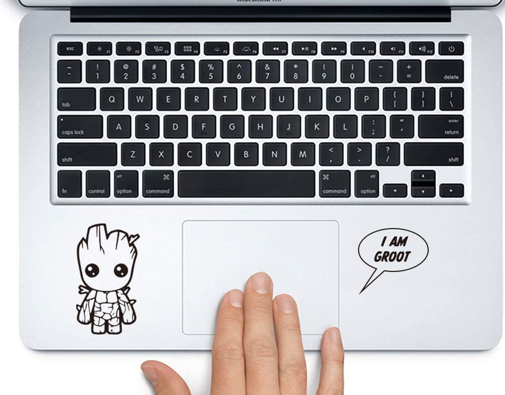 Baby Groot Sticker for laptops MacBooks Cars or Any Smooth Surfaces