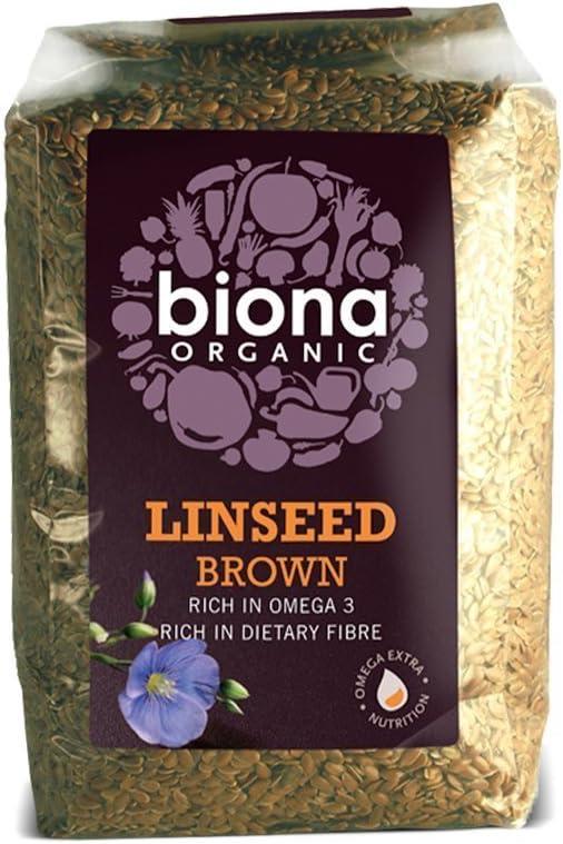 Biona Organic Linseed Brown 500G