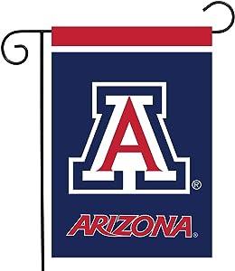 "Briarwood Lane Arizona Wildcats Garden Flag NCAA Licensed 12.5"" x 18"""