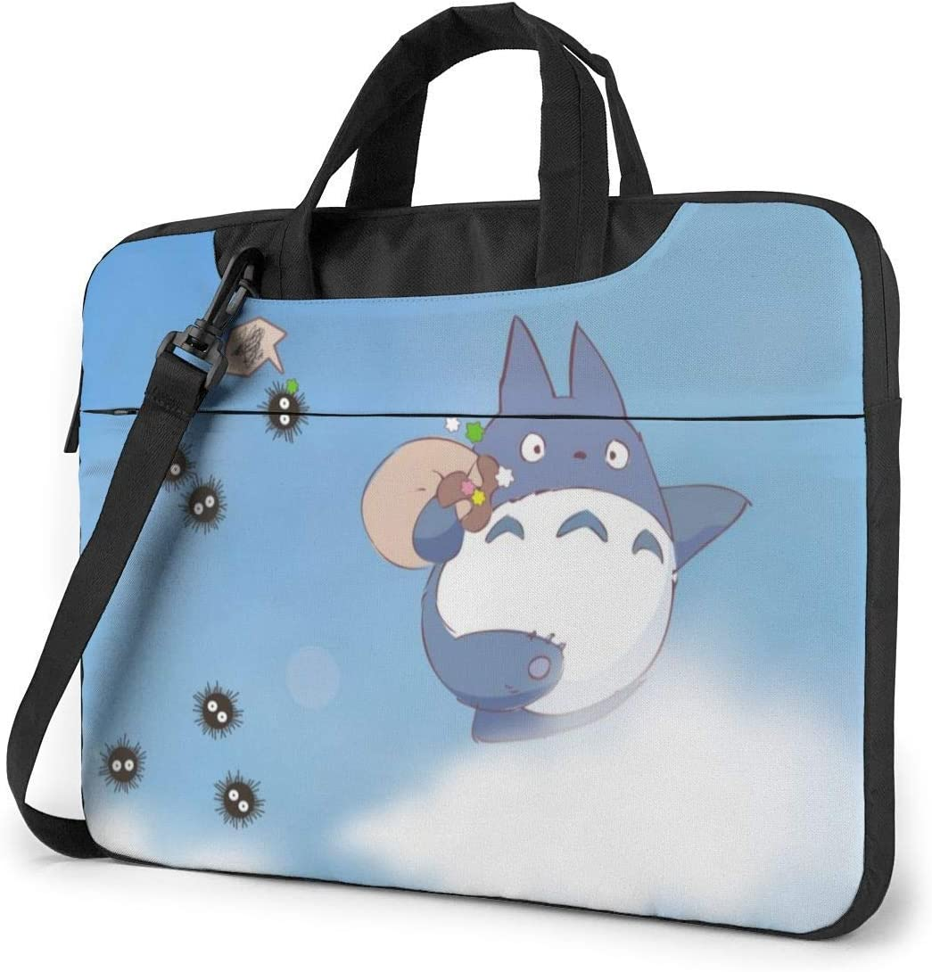 My Neighbor Totoro Laptop Sleeve Bag Case 14 inch MacBook Air Pro Notebook Sleeve Case Portable Briefcase Tote Cases