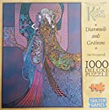 Project Kells Diarmuid and Grainne By Jim Fitzpatrick Deluxe Jigsaw Puzzle 1000 Piece