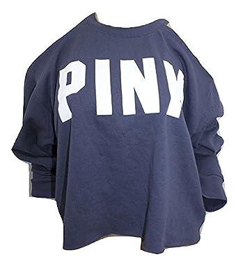 980276662a5e1a Image Unavailable. Image not available for. Color  Victoria s Secret Pink  New Cold Crop Shoulder ...