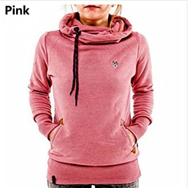 Women Hoodies Sweatshirt Long Sleeve Hooded Pocket Design Warm Hoodie Women Sudaderas Mujer at Amazon Womens Clothing store: