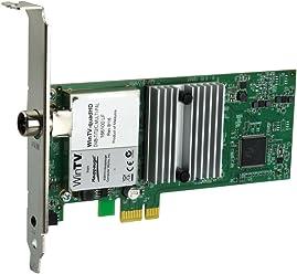 Hauppauge WinTV-quad HD TV Tuner Digitale per la TV, Nero/Antracite